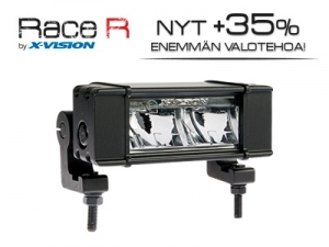LED Lisävalo X-Vision Race R2, 16W, 147mm, Ref.10